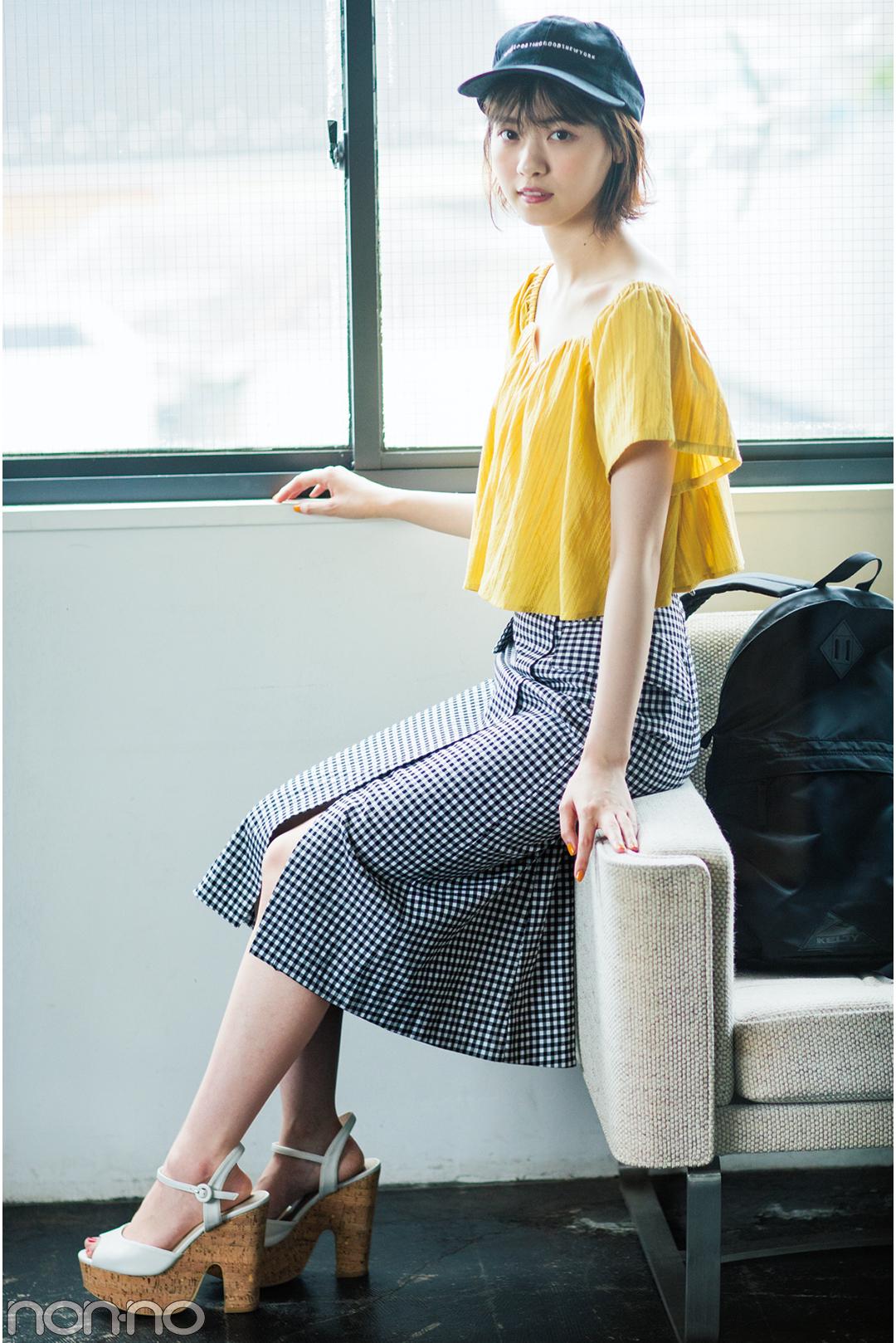 西野七瀬がお手本♡ 夏のロングスカートはカジュアルコーデが可愛い!_1_3-3