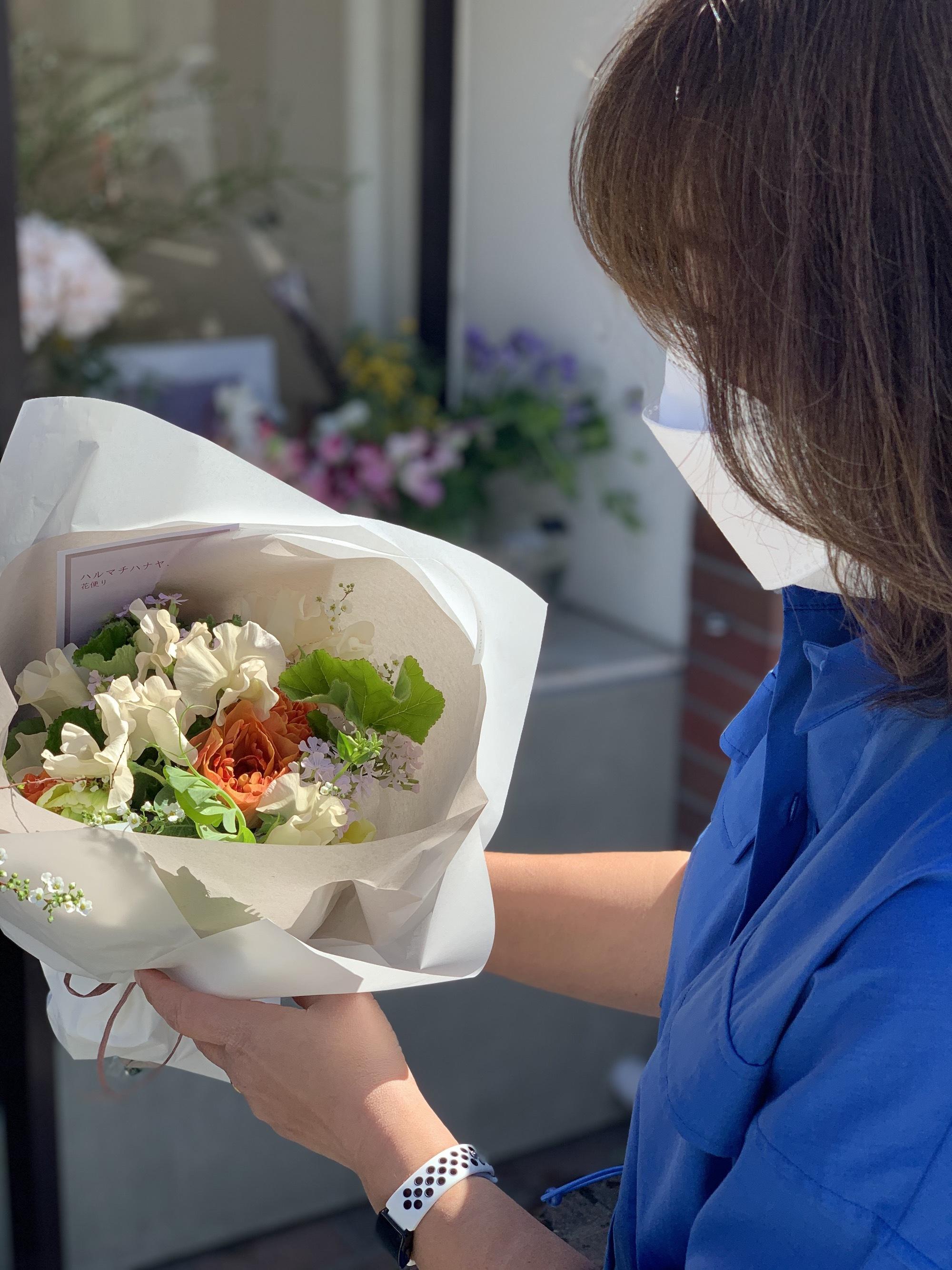 バースデー 花束 お祝い ありがとう