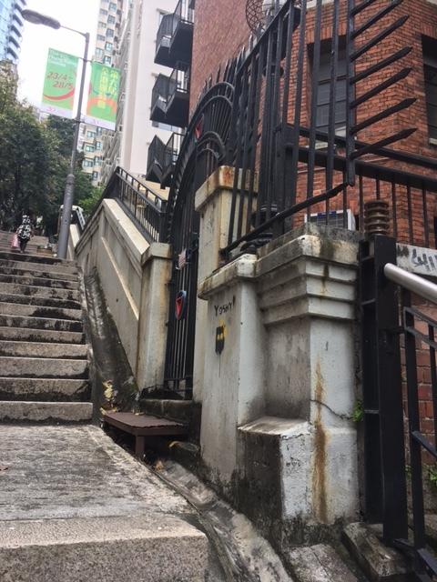 香港的撮影スポット Ladder Street_1_1-2