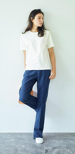 """デザインと素材に自信あり! 大人女性をきれいに見せる""""今年の指名買いTシャツ""""_3_1"""