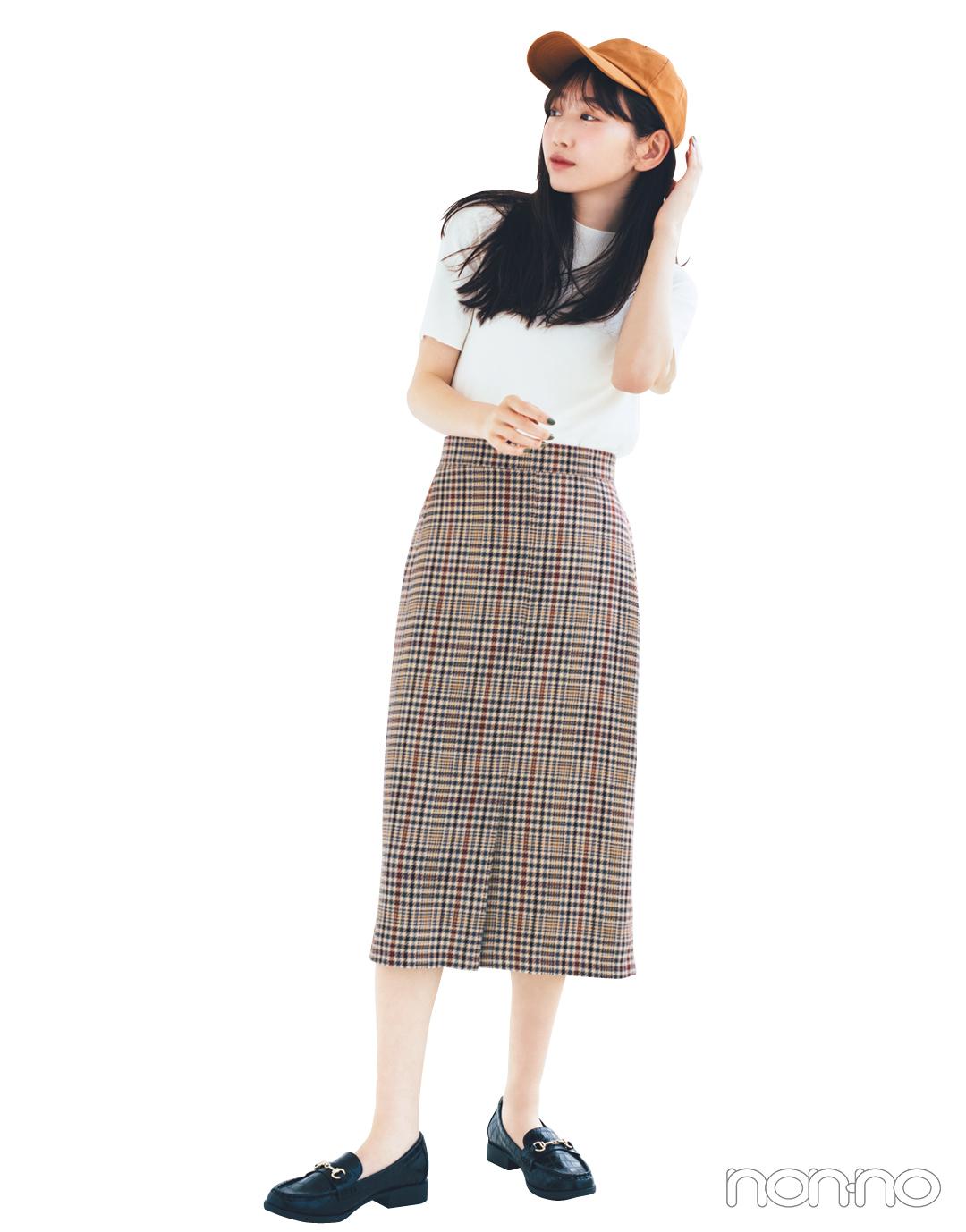 GUの秋新作スカートが神! 1990円で7通りに着回せる★_1_4-2