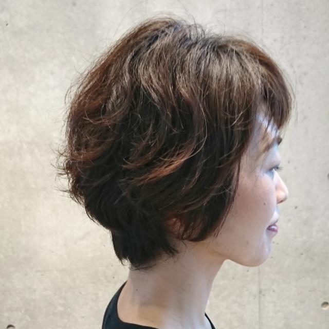 ショートヘアスタイルも季節に合わせて!_1_2-1