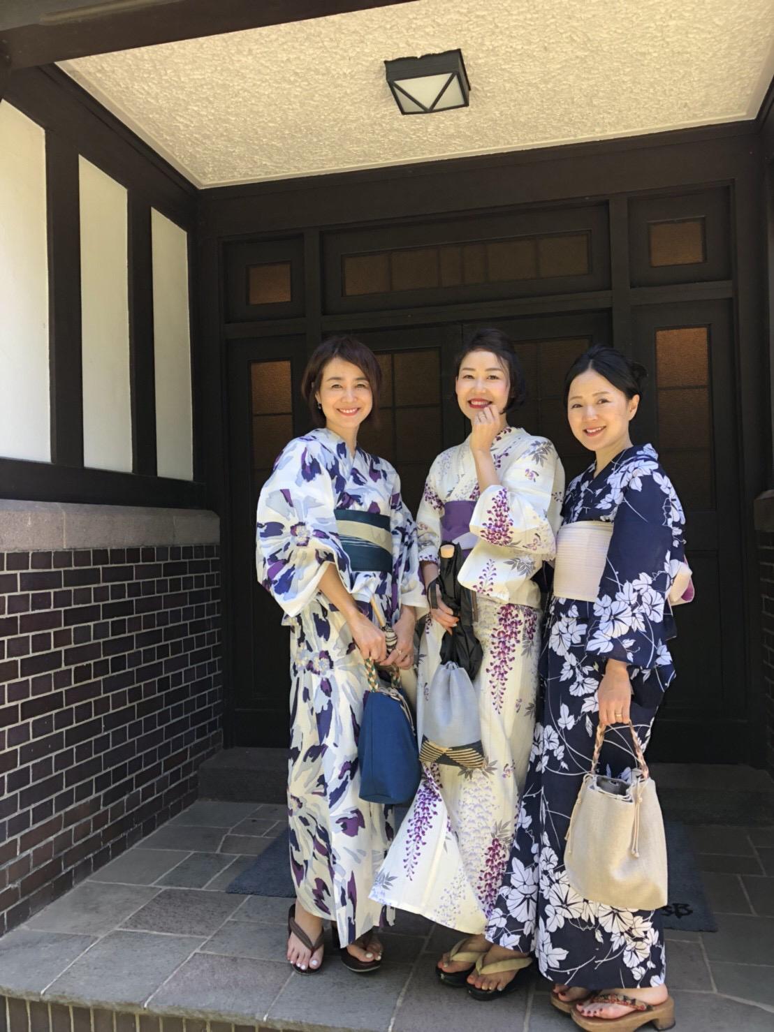 浴衣で鎌倉、古我邸ランチ_1_3
