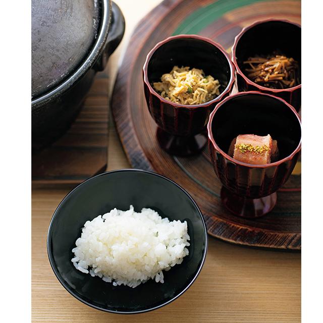 京都の二条にある和食レストラン「二条 やま岸」の締め