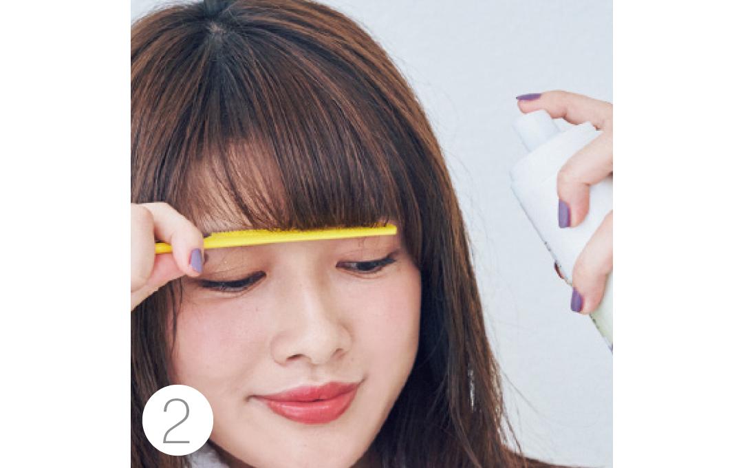 馬場ふみかの厚め前髪の作り方を超ていねい解説!【2019年★髪型を変える!】_1_4-2