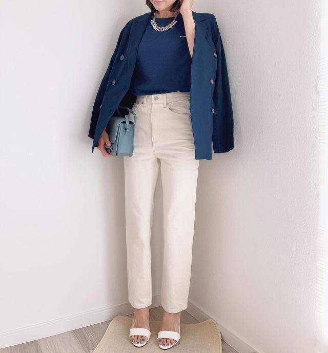 やってみたかった配色♡【momoko_fashion】_1_5-2