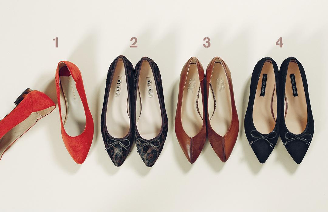 「足が痛くない」今っぽ靴、女っぽさUPならとんがりフラット!_1_6