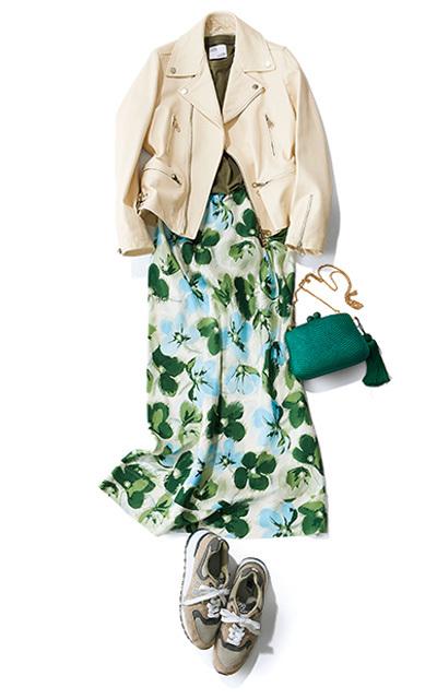 """春は""""しゃらりん""""と揺れるスカートで、一層ドラマチックに!【しゃらりんスカートで華やぎ】_1_8"""