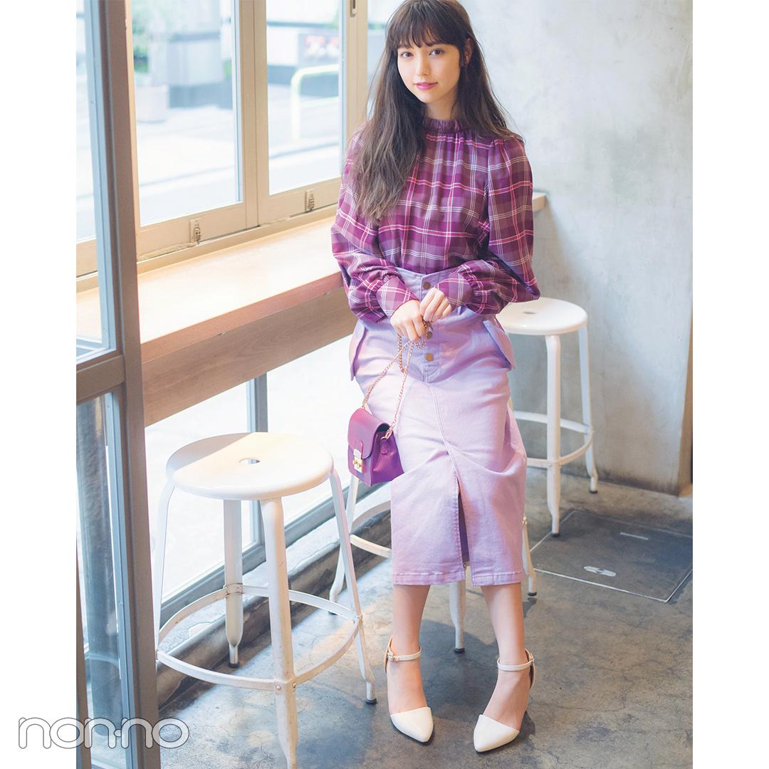 新木優子は黒のオールインワンでちょっぴりモードな夏コーデ【毎日コーデ】_1_2-5