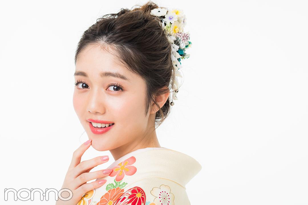 振袖ヘア|松川菜々花
