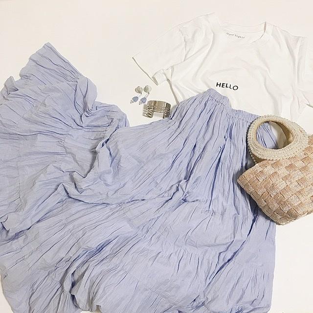 この夏1番のセール戦利品♩MARIHA 草原の虹のスカート♡_1_2