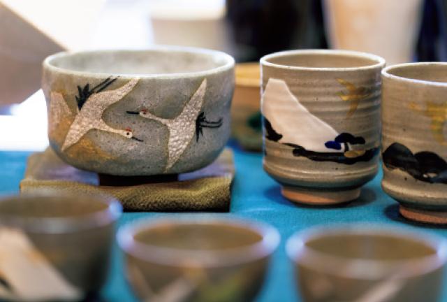『六兵衞窯』の琳派の豆皿