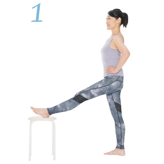 骨盤をしなやかにする方法3:ハムストリングス伸ばしのやり方1