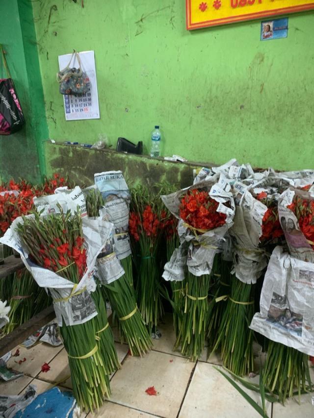 ジャカルタの花市場、Rawa Belong Flower Marketへ♪_1_6-1