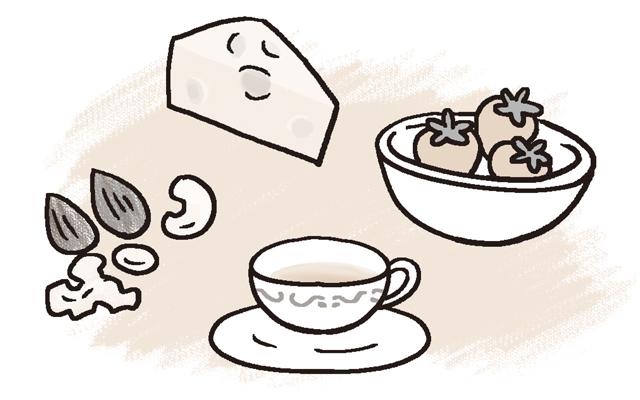 食事間隔があくときのおやつは、栄養補給にもなるものを。