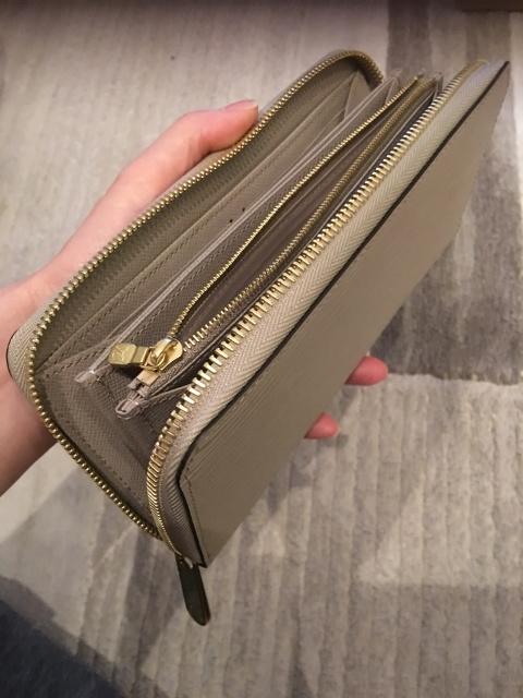 お財布変えました、沢山入れたい派の人に!_1_4