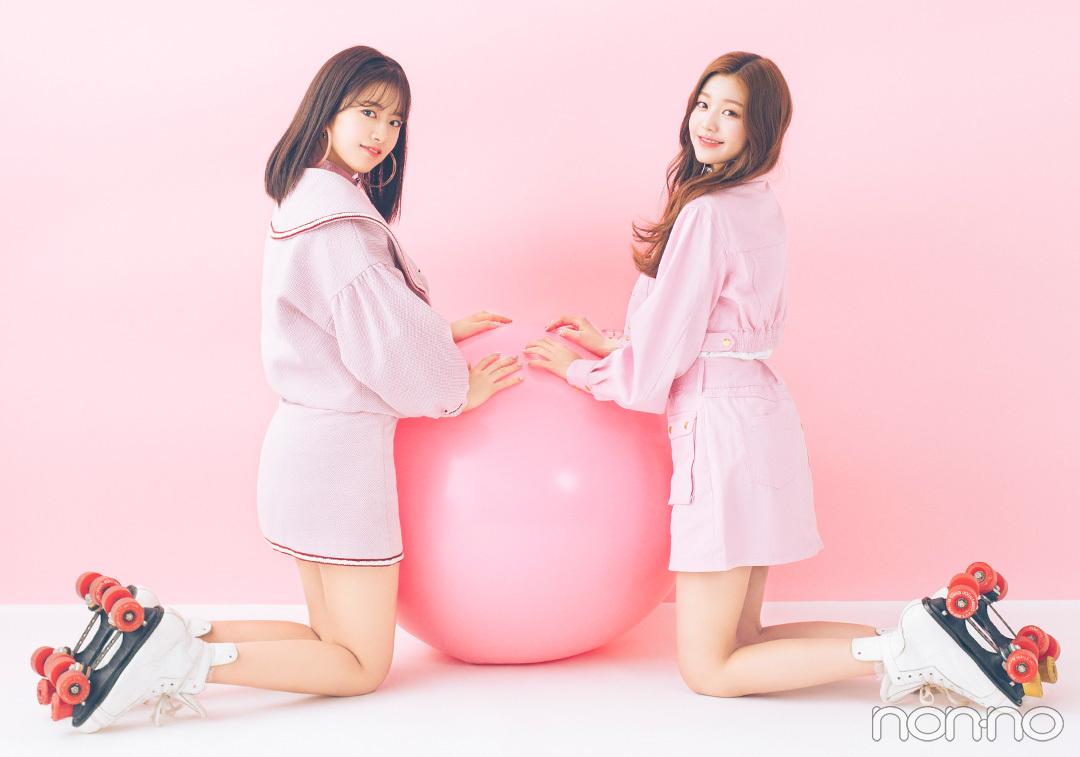 IZ*ONEメンバー|チャン・ウォニョン × アン・ユジン