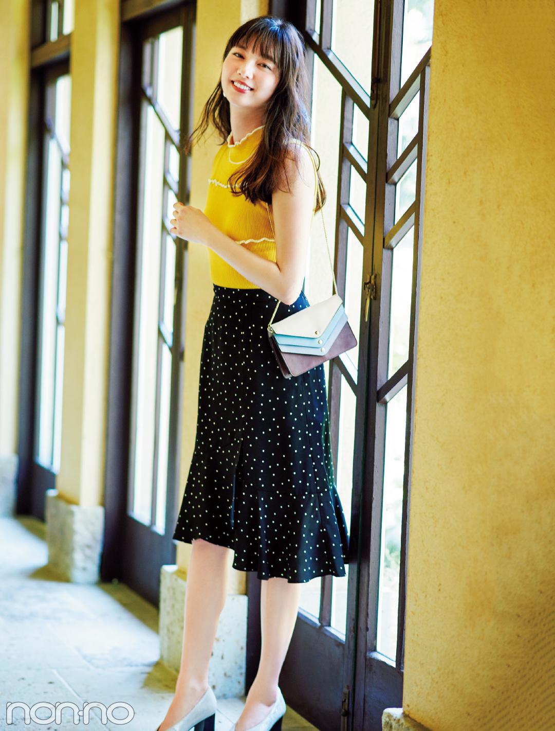 きれいめ派マスト! 秋はマーメイド風の裾フリルスカートが可愛いってウワサ★_1_2