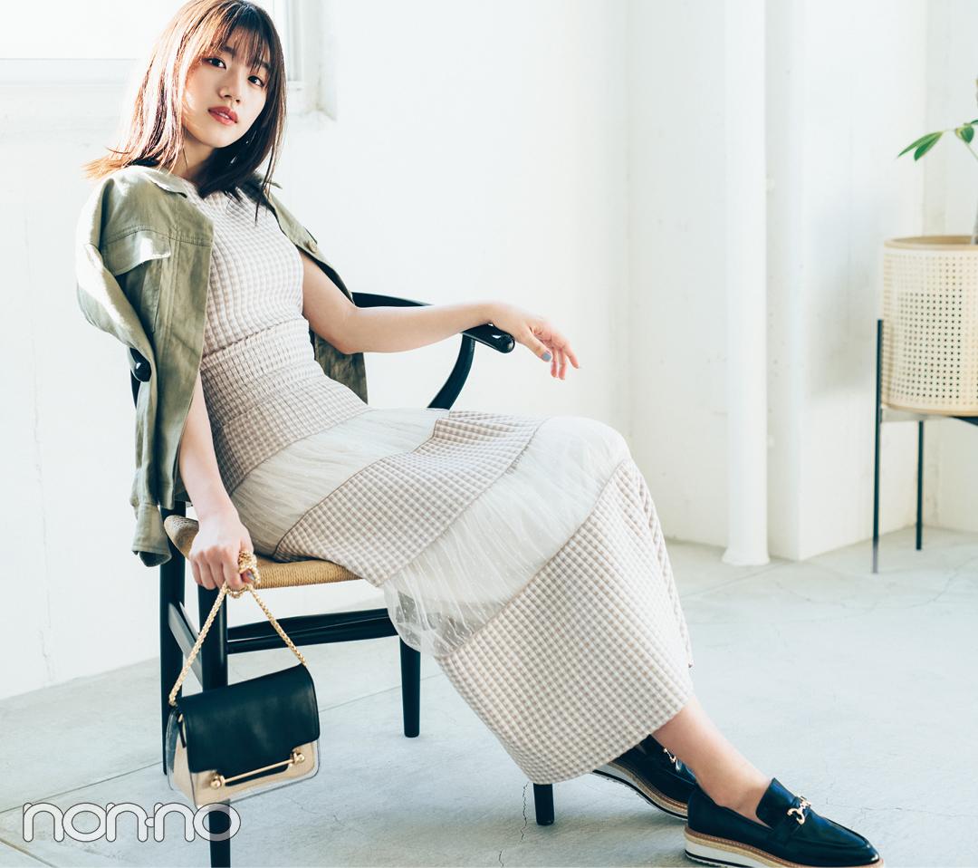 佐々木美玲の推しワンピ♡ マーキュリーデュオの新作ならこれ!_1_3