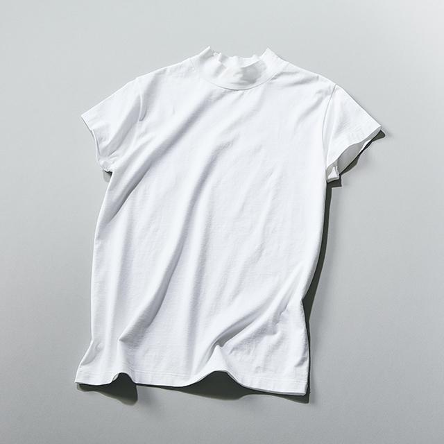 """アラフィーの体型の罠も解決。エクラ御用達ブランドの""""大人仕様Tシャツ"""" 五選_1_1-4"""