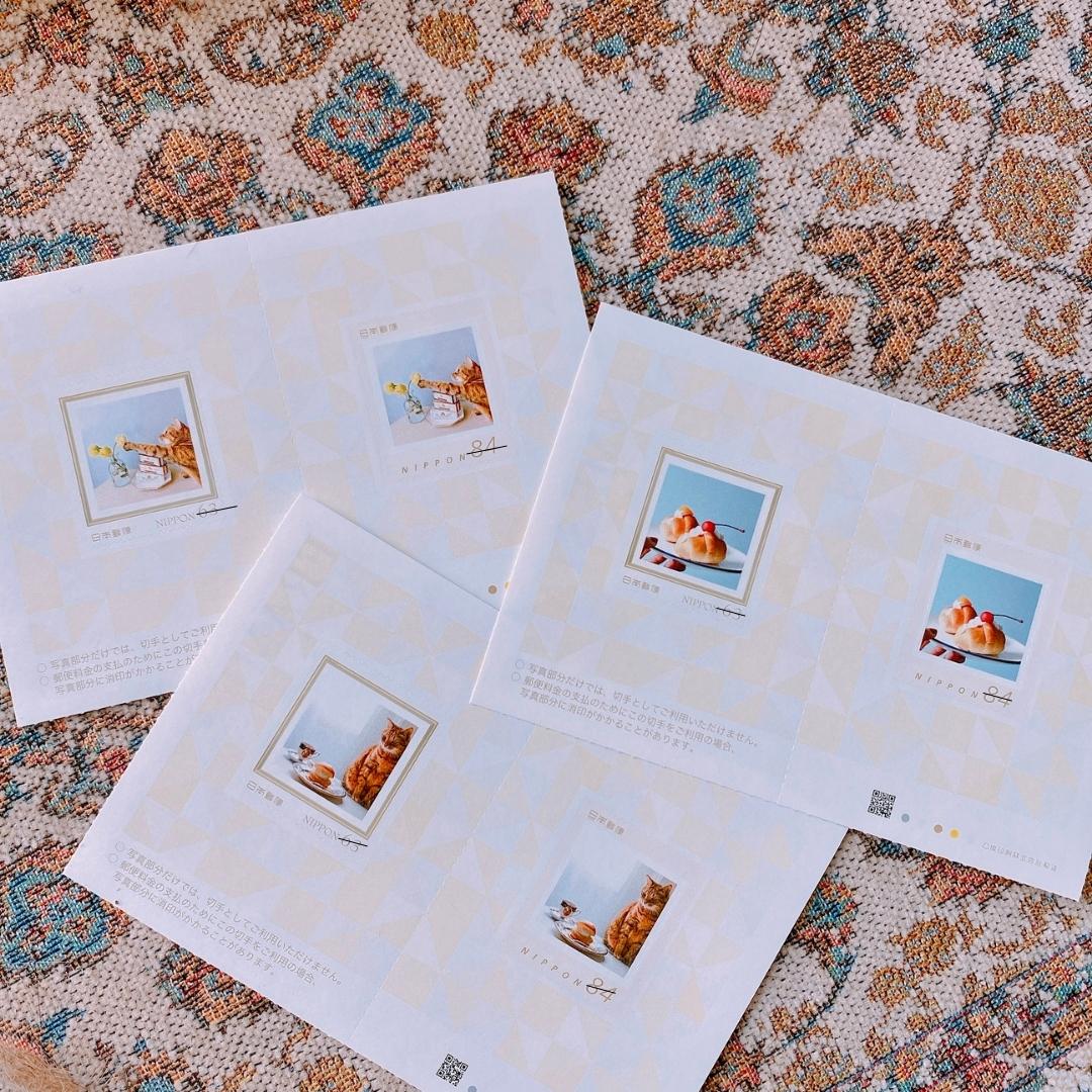 郵便局のオリジナル切手作成サービスレポ