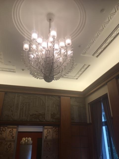 東京都庭園美術館 1933年の室内装飾 朝香宮邸をめぐる建築素材と人びと_1_2-2