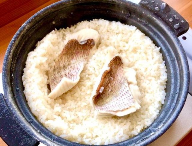 炊き込み塩ベース「鯛めし」