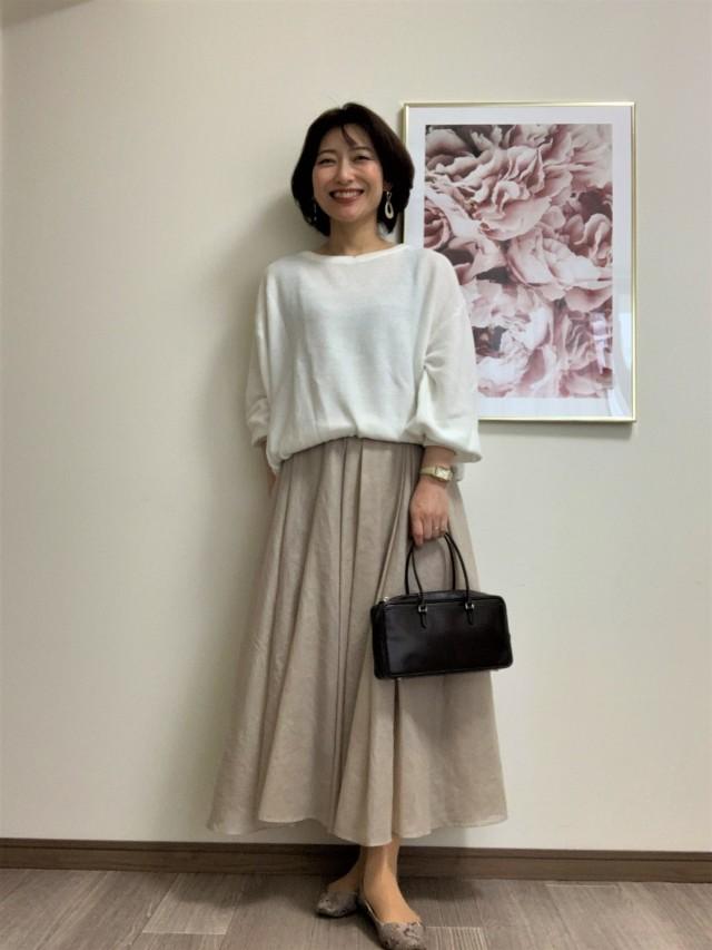 【Marisol別注】エディター三尋木奈保さん×martinique スカート_1_2-2