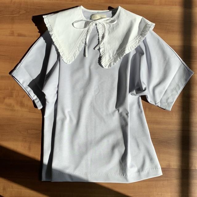 【ebure Ron Herman】Tシャツ(ブルー)