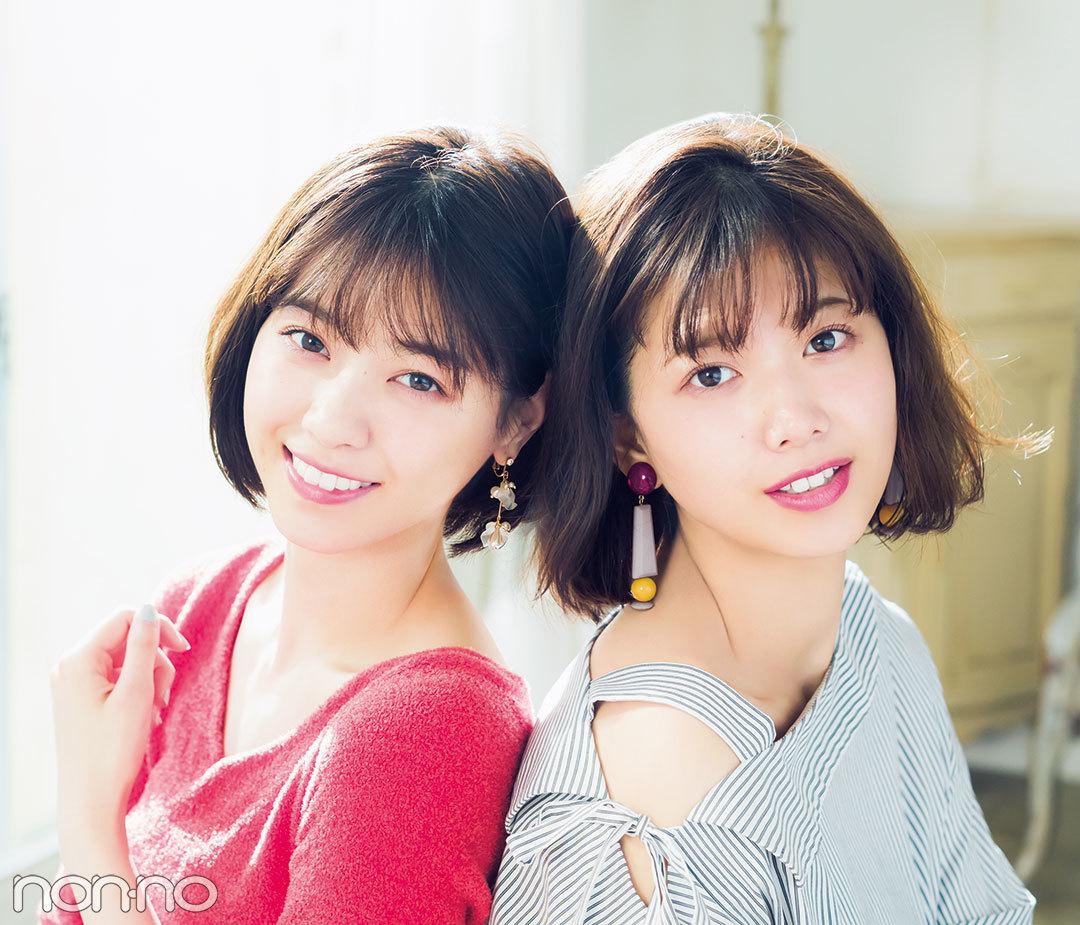 坂道姉妹|西野七瀬&渡邊理佐|春イヤリング
