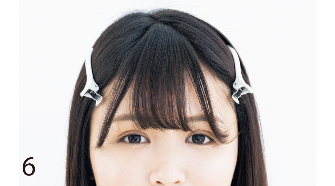 無印&ダイソーの名品で前髪セルフカット★プロが指南!_1_9