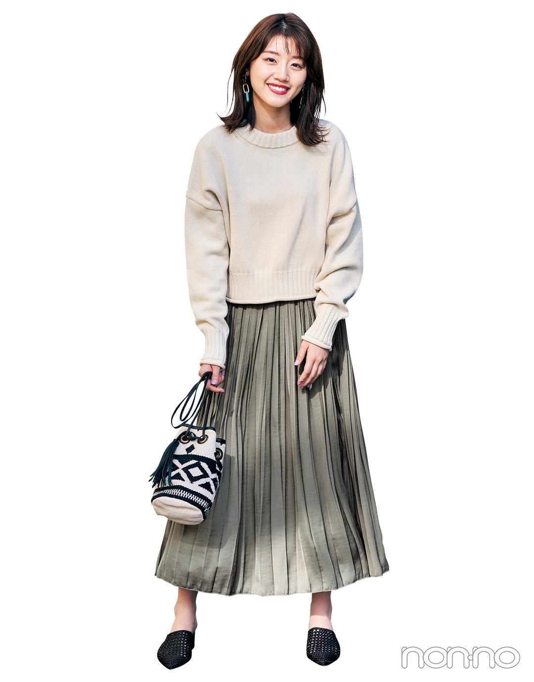 【大学生のための着倒しアイテム】スカートはこの素材感で今っぽく♡ _1_8