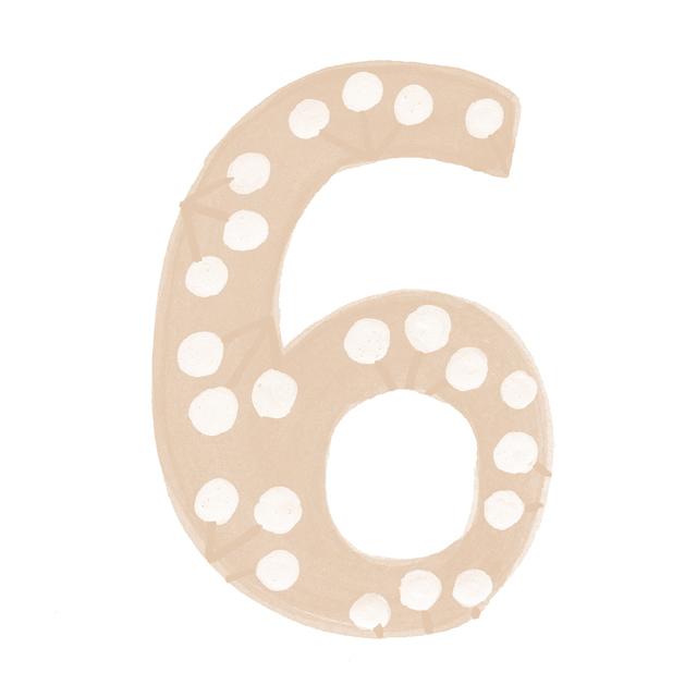 イヤーナンバー6