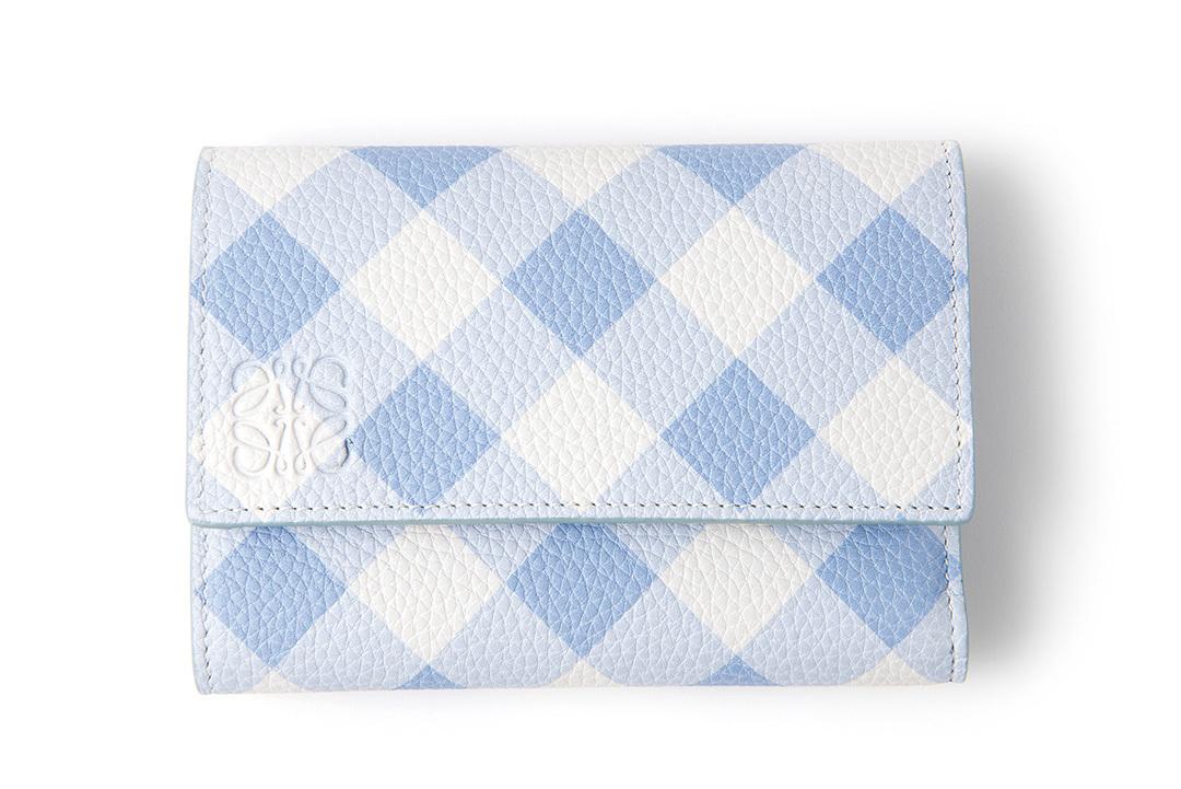 新しいお財布は、ロエベのギンガムチェックシリーズで決まり!【20歳の記念】_1_2-3