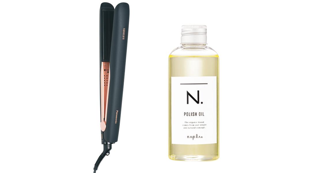 ストレートアイロン ナノケア EHHS0E、N.ポリッシュオイル