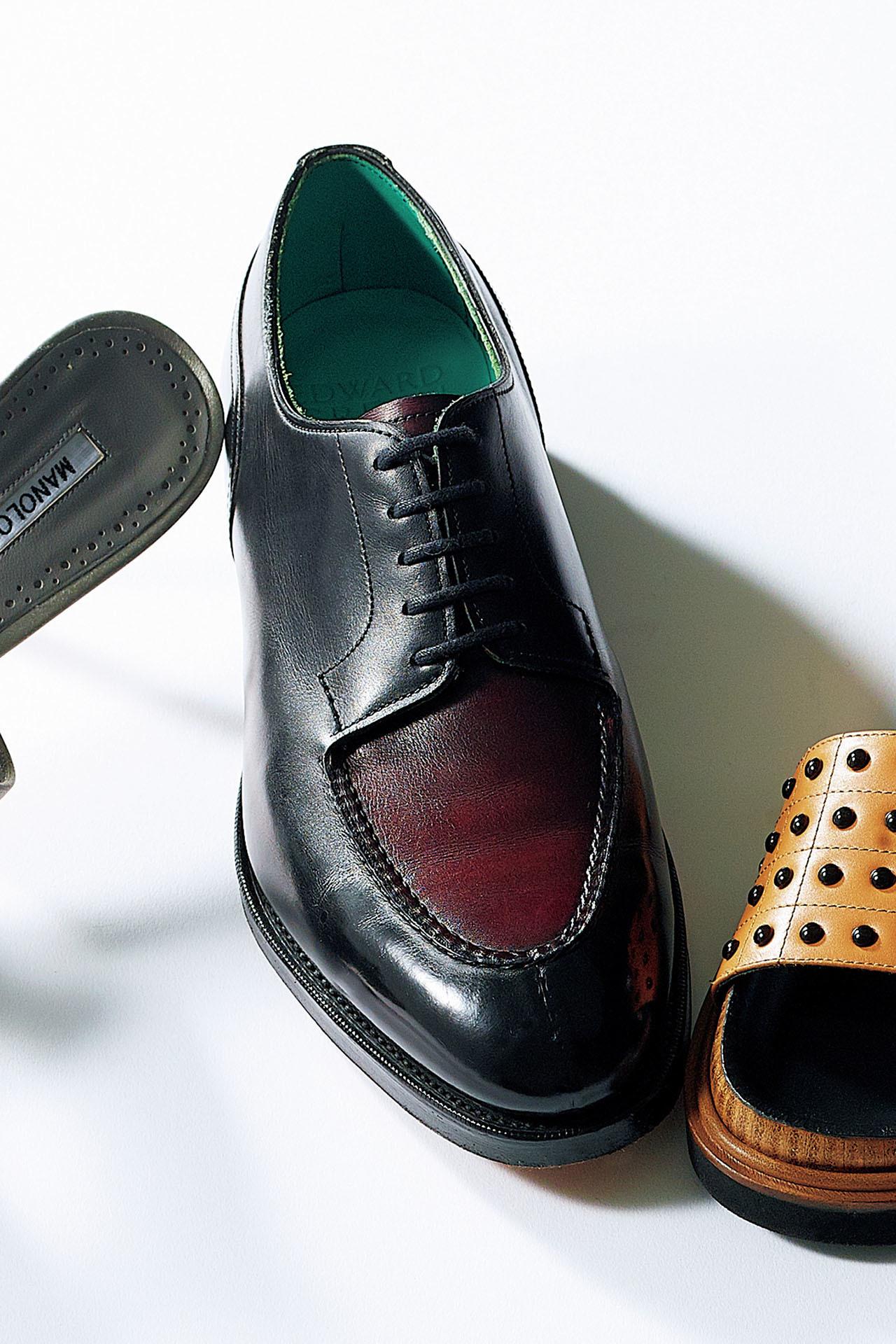 春のスカートスタイルで差をつけたいなら、こだわりカラーのマニッシュ靴を投入 五選_1_1-1
