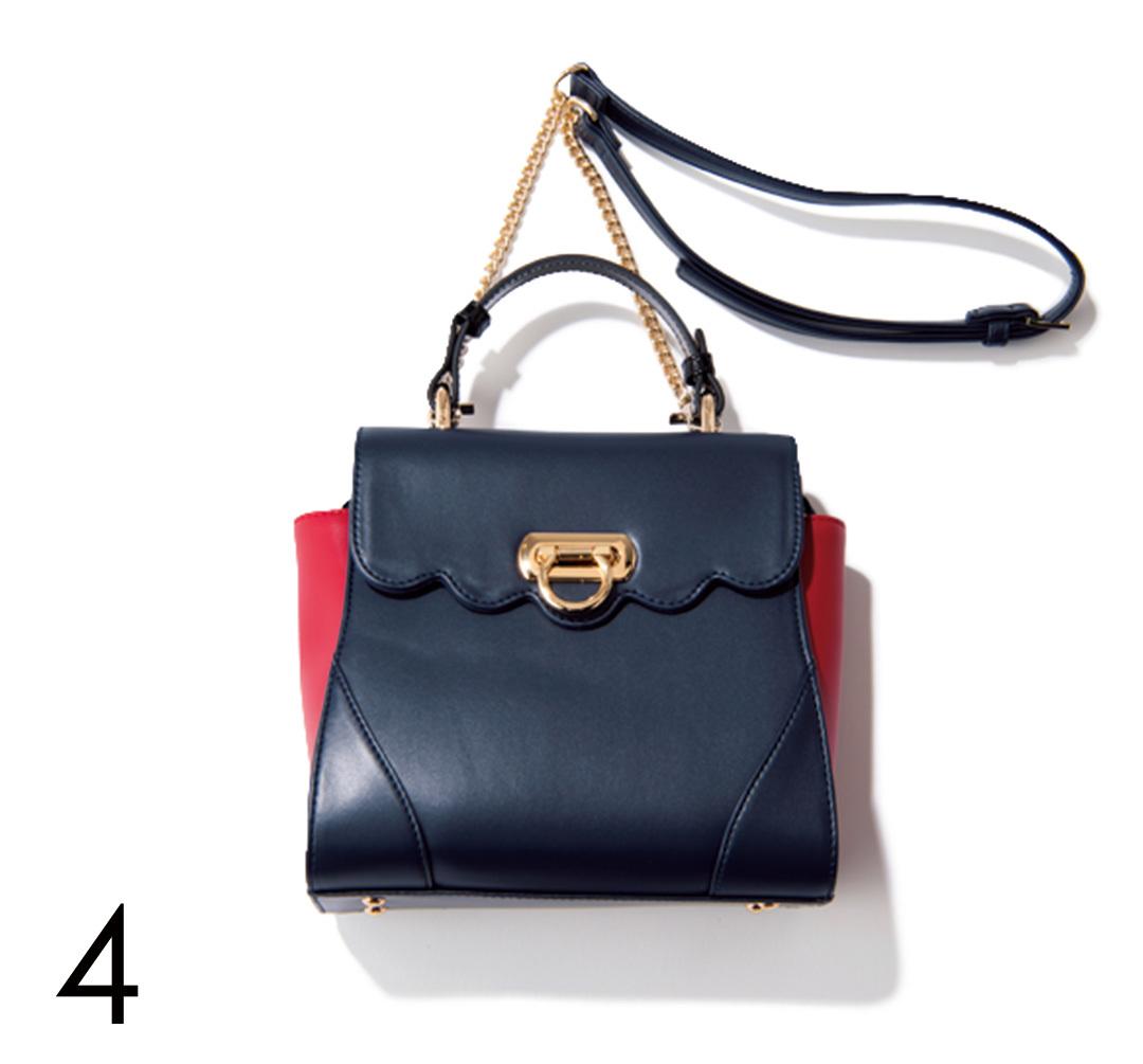 さりげないのに好印象♡ バッグで赤を取り入れる!_1_4-4