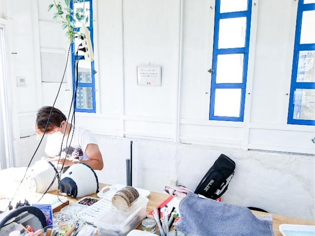 【さかぽんの冒険♪Vol.1】沖縄石垣島でガラス工房シーサー作り体験❤️_1_2