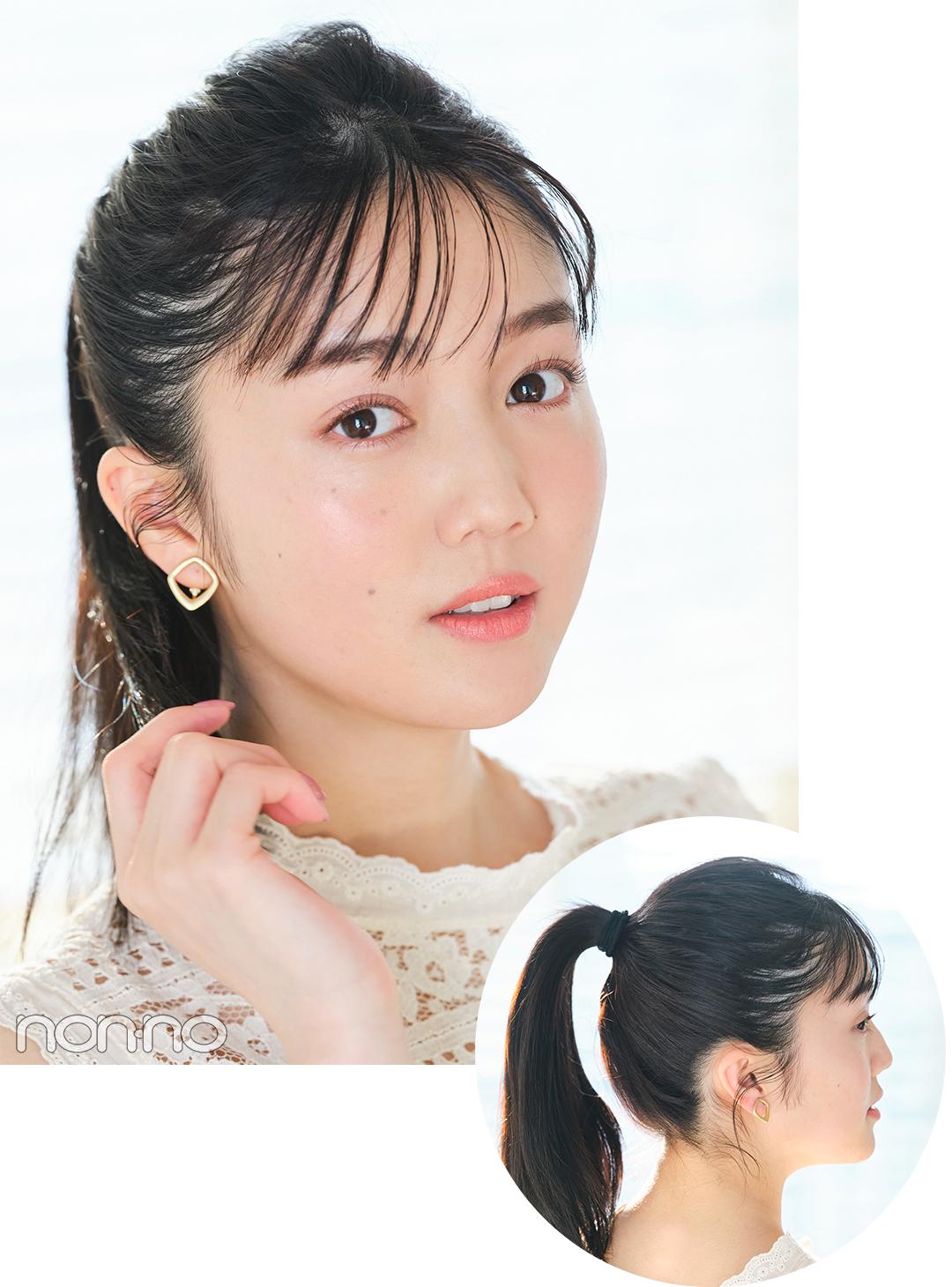 恋活ヘアアレ3 爽やかポニー 松川菜々花