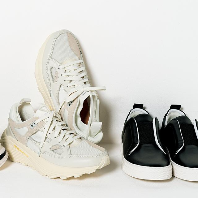靴「SLIDER」¥68,200(ピエール アルディ)/エクラプレミアム通販