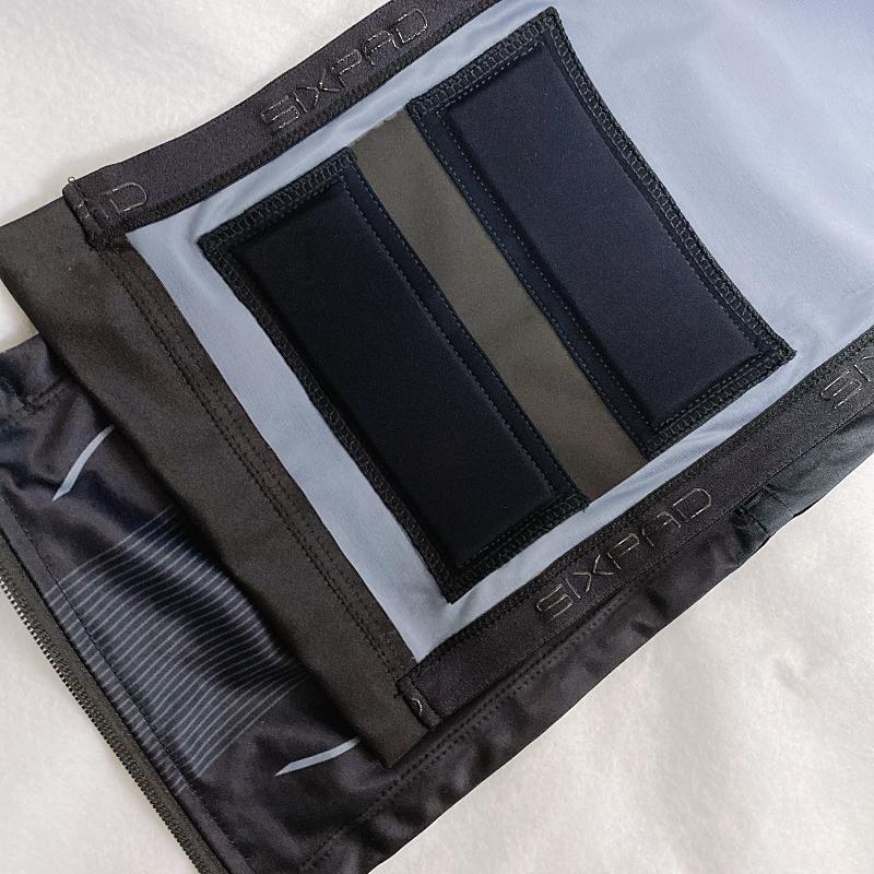 SIXPADのPowersuitLiteAbsはジェルシート不要の布製電極で便利すぎる