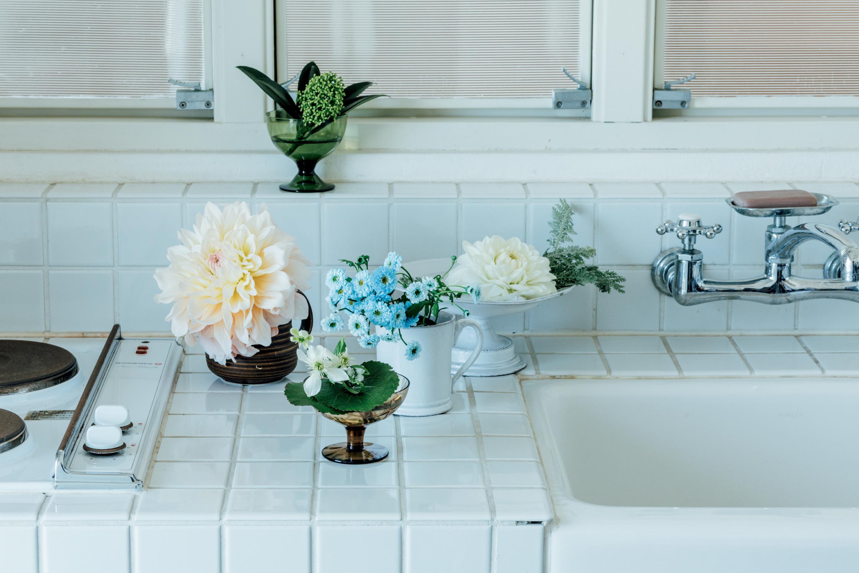 日常の器を生かした、素敵な花あしらいの作法 五選_1_2