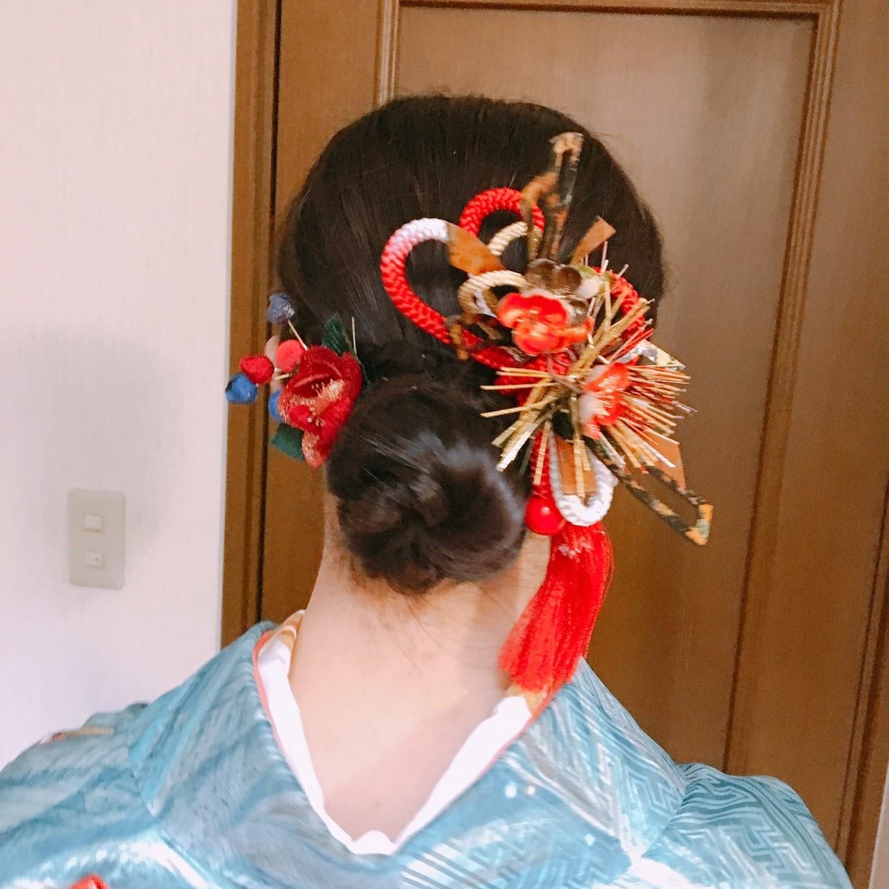 --自分でできる、洋服・和服に合うヘアアレンジ--_1_4
