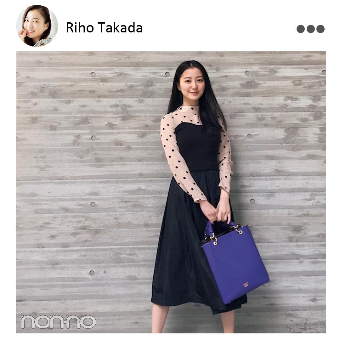 鈴木友菜&渡邉理佐の「色が気に入って買った服」は?【MODELS' VOICE②】_1_1-6