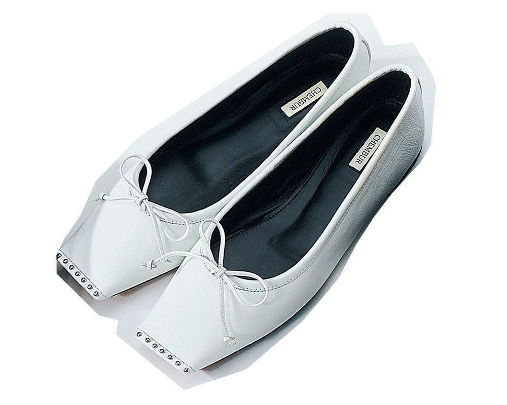 チェンバーのフラット靴