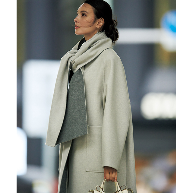 アラフィー女性のこだわりが満載!着こなし豊富な「優秀コート」 五選_1_1-3