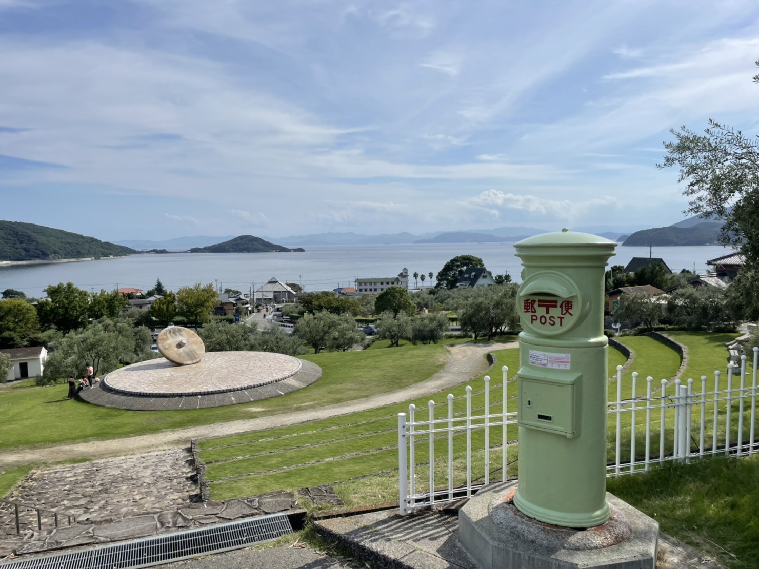 とっておきワンピースでフォトジェニックな小豆島へプチトリップ♬ PART2 オリーブ公園 _1_8