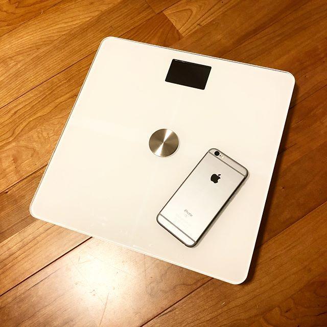 自分の体重を知っておくことが大事!アプリ連動してる便利な体重計を購入しました_1_1