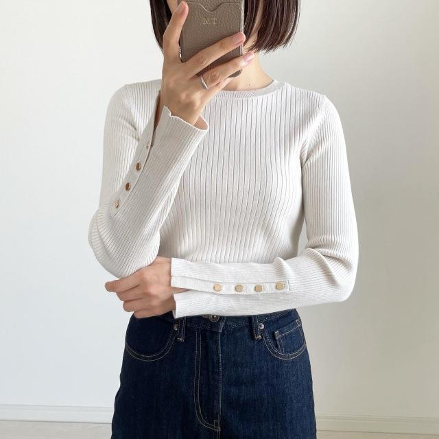 思わずイロチ買い!GU新作セーター【tomomiyuコーデ】_1_7