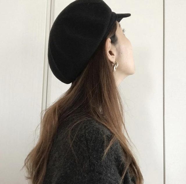 プチプラ帽子で日々のコーデにアクセントを【40代 私のクローゼット】_1_3-1